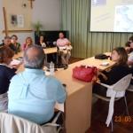 Relatori e partecipanti ad un incontro formativo del 23 giugno 2012