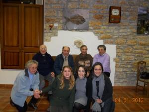 Partecipanti al seminario di verifica del progetto Itinerari Possibili