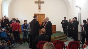 """Consegna del """"Premio don Giovanni Brugnani - Parrocchie Inclusive"""" alla parrocchia Sant'Antonio di Padova di Battipaglia"""